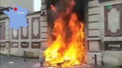 Les images des violences à Rouen et dans d'autres villes lors de l'acte VII des gilets