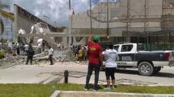 Se derrumba construcción en Puerto