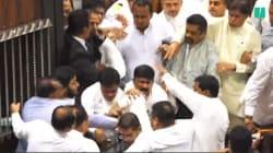 Une bagarre générale éclate au parlement du Sri