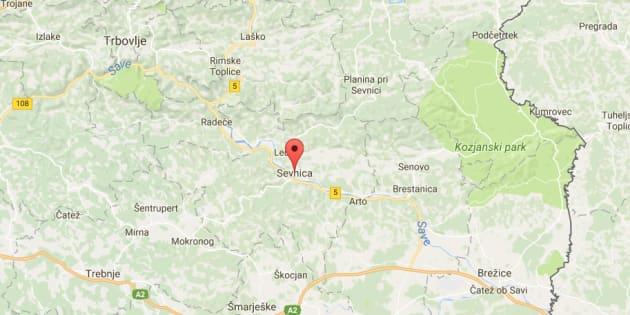 Mélania Trump vient de Sevnica en Slovénie.