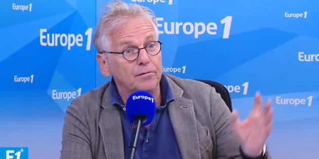 """Daniel Cohn-Bendit n'a pas apprécié la """"joie pure"""" de Jean-Luc Mélenchon après la défaite de l'Allemagne."""