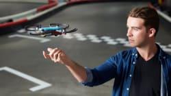 Este es el dron chino que obedece al movimiento de tus manos y te toma