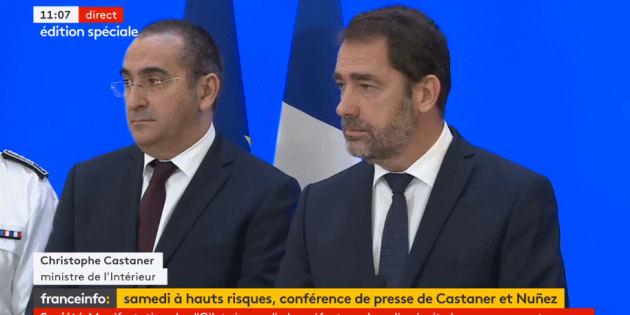 Christophe Castaner a annoncé qu'il portait plainte contre Nicolas Dupont-Aignan.