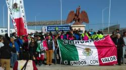 FOTOS: Inicia Caravana por la Dignidad, liderada por Javier