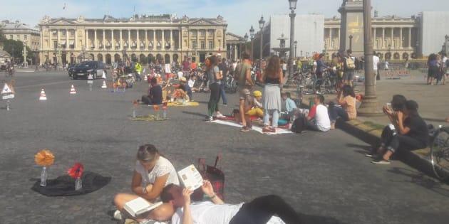 Les images de la journée sans voiture à Paris