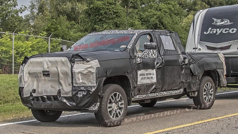 2020 Chevrolet Silverado Hd And Gmc Sierra Hd Spy Photos Autoblog