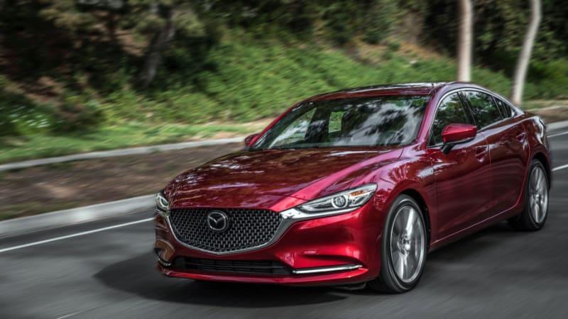 2018 Mazda6 sedan gets top IIHS safety rating with headlight