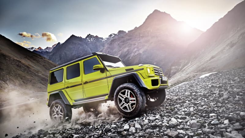 Mercedes-Benz G500 4x42 luxury off-roader reaches the end of the line