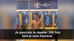 Le discours de Cristiano Ronaldo qu'on aurait aimé ne jamais