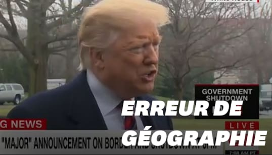 Pour défendre son mur, Trump prend pour modèle une ville qui n'en a pas, à 240 km de la