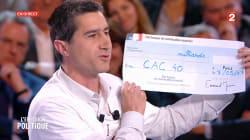 François Ruffin demande à Macron le montant de son cadeau au CAC