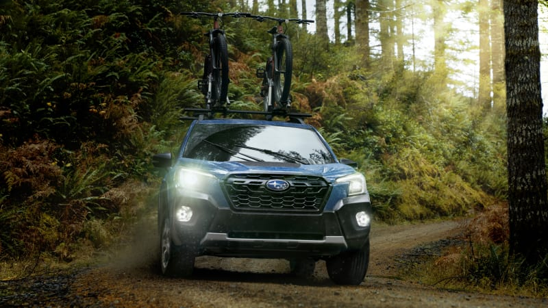 2022 Subaru Forester bekommt die Wilderness-Behandlung, neue tech€