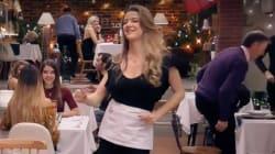 La camarera Yulia se marca uno de los momentos más sexis de la historia de 'First