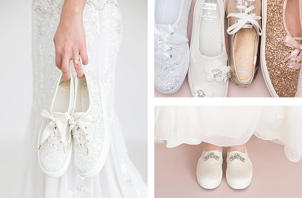 This Keds X Kate Spade collaboration is every modern bride\'s dream ...