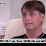 'Nunca preguei o ódio', diz Bolsonaro em sua primeira entrevista em
