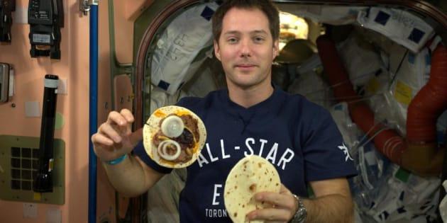Comment transformer le caca des astronautes en nourriture