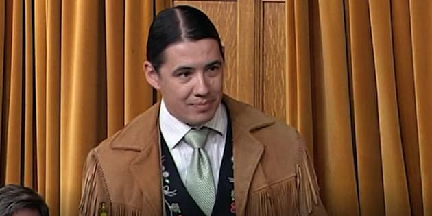 Robert-Falcon Ouellette speaks in the House of Commons on May 4, 2017.