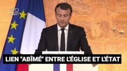 Les 5 passages du discours de Macron aux évêques qui ont choqué la