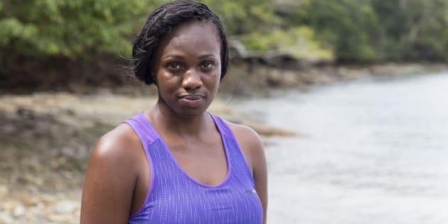 """Maryse, 31 ans, est la personne en charge des soins dans le groupe mixte de """"The Island"""" saison 3."""