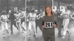 Cette marathonienne a fêté les 50 ans de son acte de bravoure
