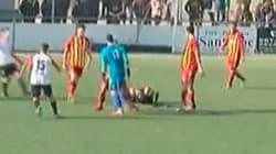 Vergonzosa agresión a un árbitro en un partido de la Tercera