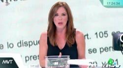 Mamen Mendizábal estalla en directo en 'Más Vale Tarde':