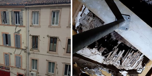 Après les effondrements d'immeubles à Marseille, #BalanceTonTaudis dénonce l'état de certains bâtiments
