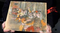 Un tableau de Degas volé il y a huit ans retrouvé dans un