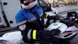 Ce Youtubeur déguisé en père Noël sur sa moto a permis l'interpellation d'une