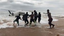 Un avion s'écrase au large d'Abidjan, des Français parmi les