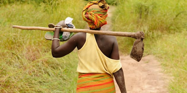 African women do a lot of unpaid work that isn't captured in GDP calculations.