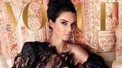 Kendall Jenner en couverture de