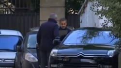 Nicolas Sarkozy est rentré chez lui à l'issue de sa mise en