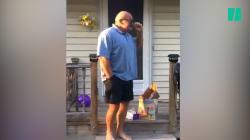 Ce père de famille voit les couleurs pour la première fois, et c'est