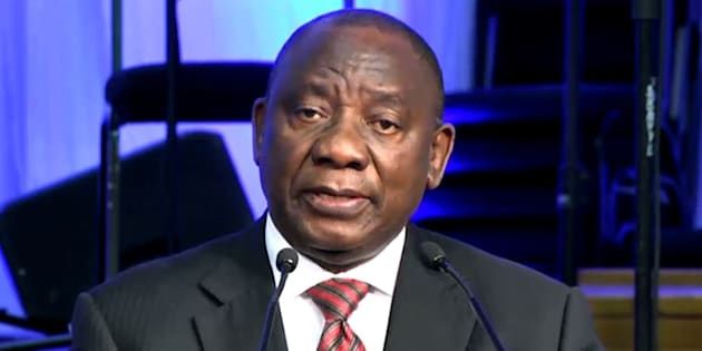 Deputy President Cyril Ramaphosa gives the keynote address at the launch of Nelson Mandela University (formerly Nelson Mandela Metropolitan University) in the Eastern Cape on July 20, 2017.