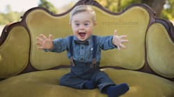 Toddler With Down's Syndrome Gets Modelling Job After Being
