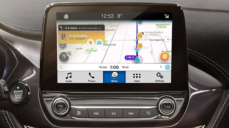 ford adds waze integration to sync 3 infotainment autoblog. Black Bedroom Furniture Sets. Home Design Ideas