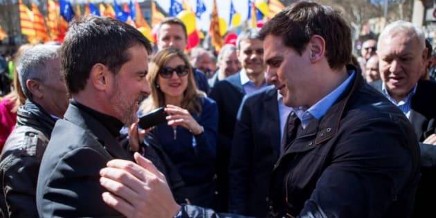 Valls y Rivera en una imagen de archivo
