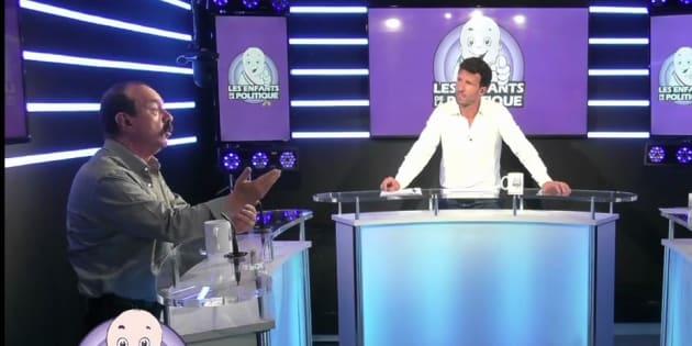 Philippe Martinez face aux Enfants de la Politique.