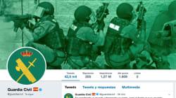 Alberto Garzón, indignado por este 'me gusta' de la Guardia Civil en Twitter: