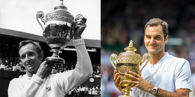 """The only way to ascertain if Federer is the greatest of all time would be to build a time machine, so we could see him go head to head against the likes of Laver."""