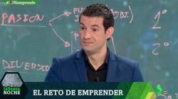La pregunta que dejó con esta cara a un experto sobre emprendimiento en 'LaSexta