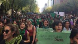 México y América Latina abrazan a mujeres de Argentina pidiendo