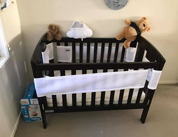 Dad finds venomous snake next to baby's crib