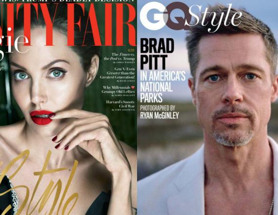 How Jolie and Pitt's post-split lives differ
