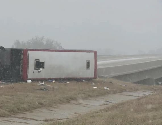 Reports: Severe storm leads to travel accidents