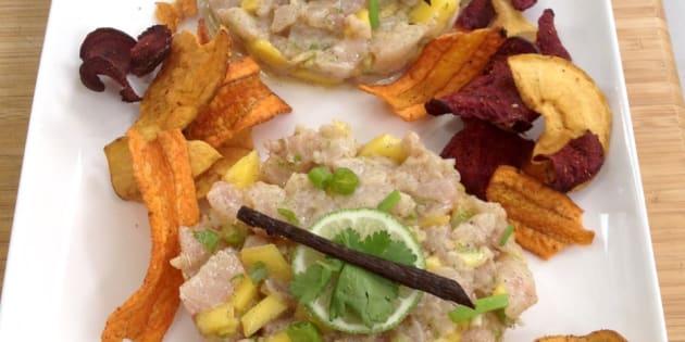 Vite fait, bien fait: Tartare de dorade au gingembre et soja