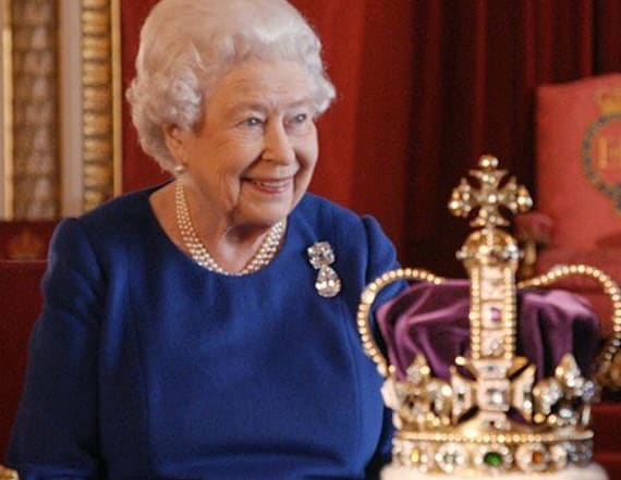 Queen Elizabeth gets cheeky during documentary
