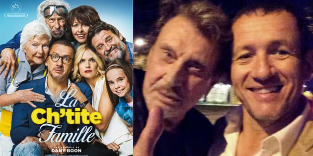 "L'hommage inattendu de Dany Boon à Johnny Hallyday dans ""La Ch'tite Famille""."