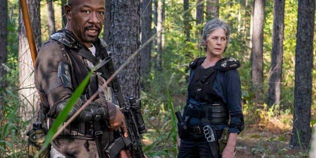 """""""The Walking Dead"""" saison 8 épisode 14: Pourquoi Carol a vu double dans cette scène"""